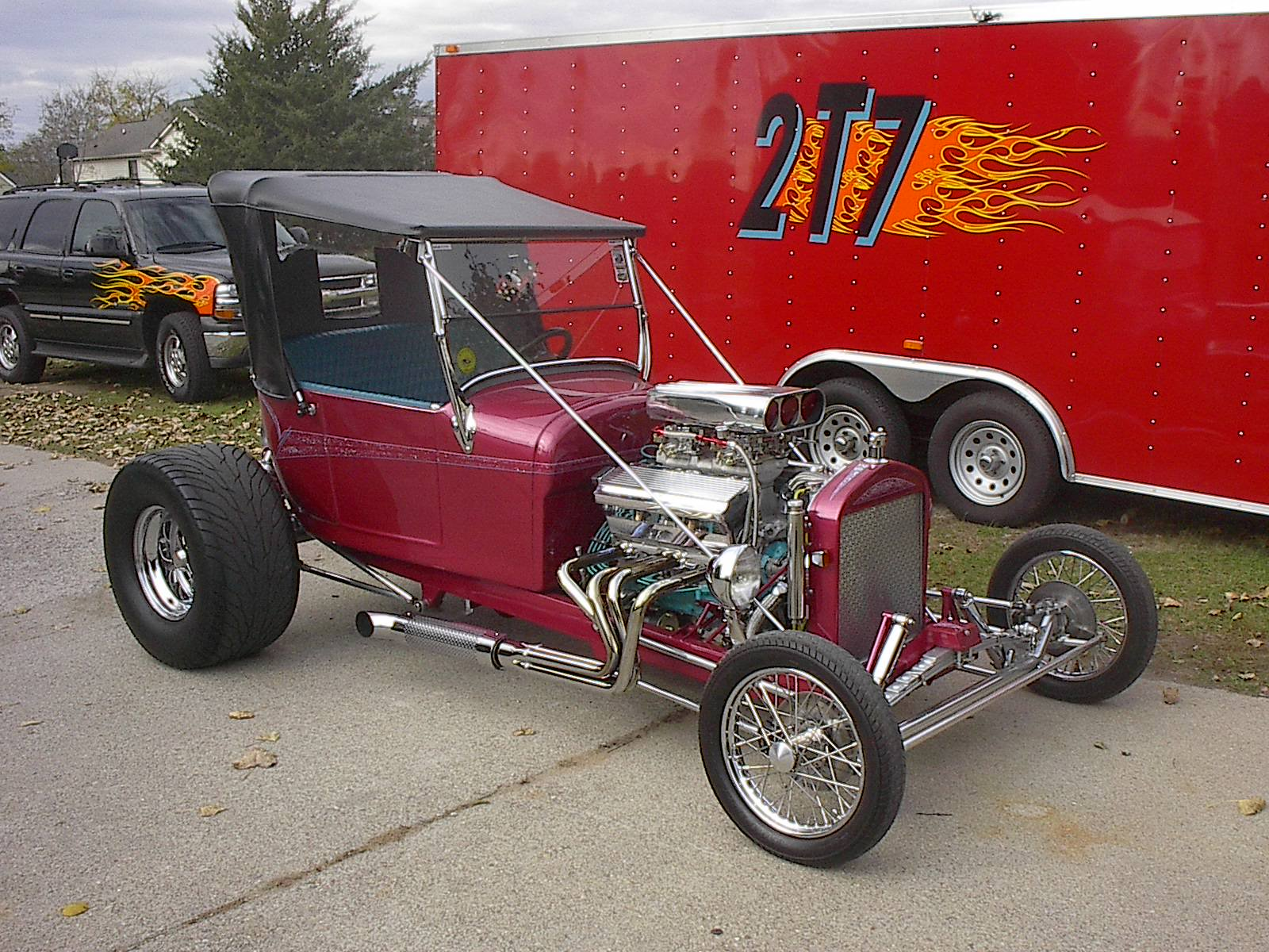 1927 Ford T Bucket Cer100