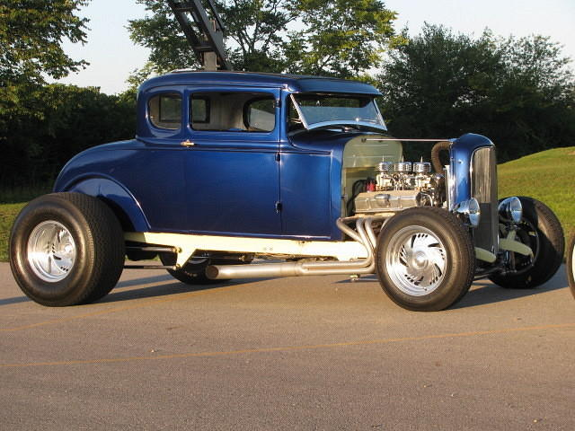 1930 Ford Model A 5-Window Coupe, #CER100